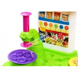 CDS – Cukráreň - kreatívny stolík s modelovacou hmotou a príslušenstvom