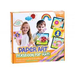 PAPER ART – veľký kreatívny set – vypĺňanie obrázka papierovou šnúrkou