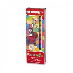 Modelovacia hmota KORES, 10 farieb