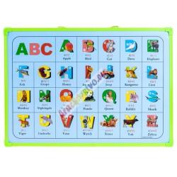 Magnetická tabuľa, 6 farieb