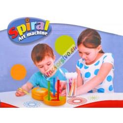 SPIRAL – umelecká sada so spirografom