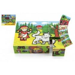Drevené kocky kubus- Moje prvé rozprávky
