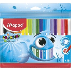 MAPED fixky Color´Peps Ocean 18 farieb