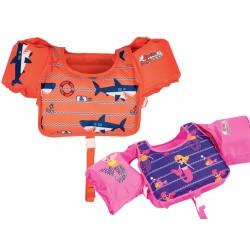 Bestway 32174, detská vesta na plávanie s rukávmi, 2 farby