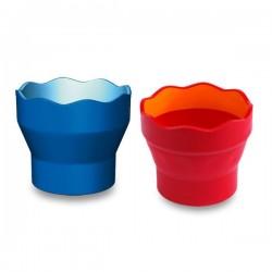Nádobka na vodu Click&Go, 3 farby