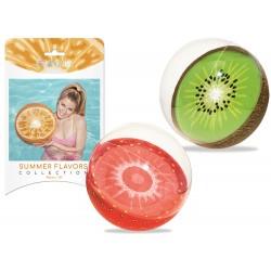 Bestway 31042, nafukovacia lopta s ovocným motívom 46 cm, 3 druhy
