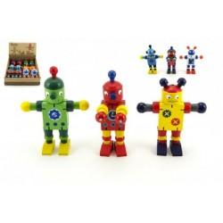 Drevený robot