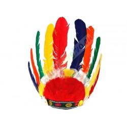 Farebná indiánska čelenka