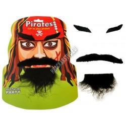 Samolepiaca maskovacia sada - kovboj alebo pirát