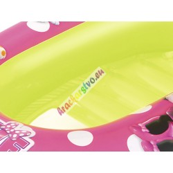 Bestway 91059 Nafukovací člnok so strieškou Myška Minnie, 112 cm
