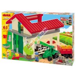 ABRICK stavebnica Slnečná farma18m+