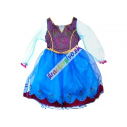 FROZEN kostým – šaty pre Annu alebo Elzu, vhodné 3-6 rokov