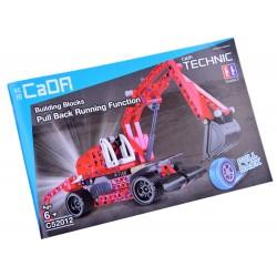 CaDA TECHNIC – technická stavebnica Bager, 235 častí