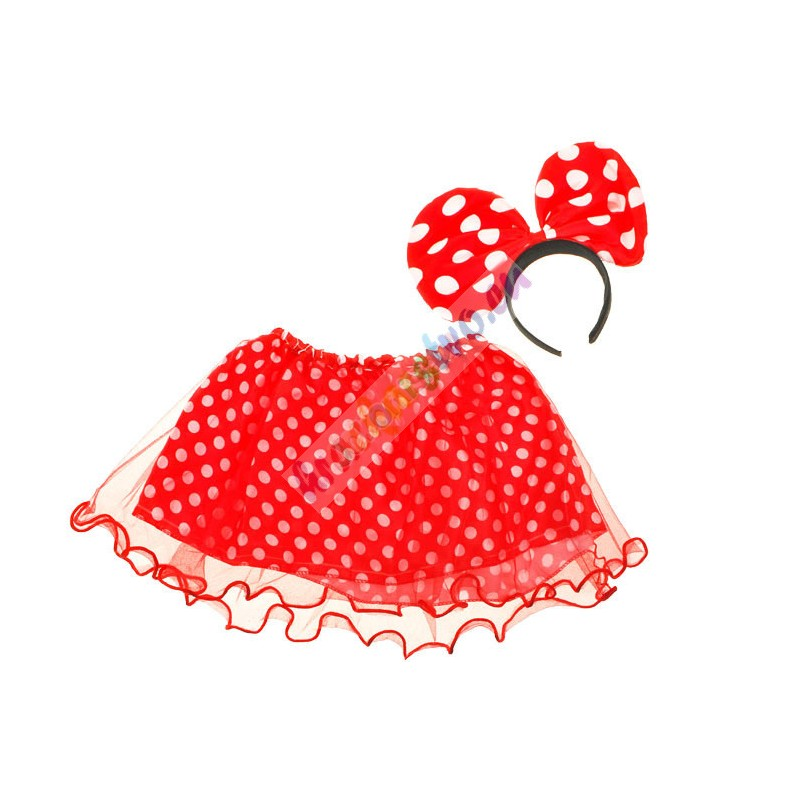 Kostým na maškarný, myška Minnie