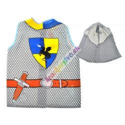 Kostým rytier, vesta + klobúk