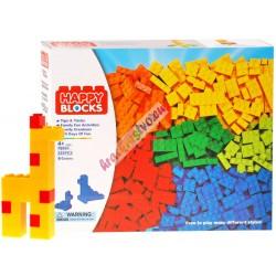 HAPPY BLOCKS – klasické farebné skladačky 325 ks
