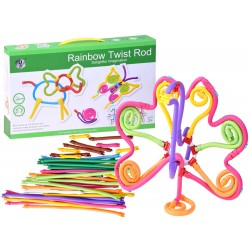 Rainbow Twist Rod – elastická stavebnica