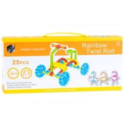 Rainbow Twist – elastická stavebnica