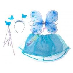 Kostým pre motýľa, vílu modrý