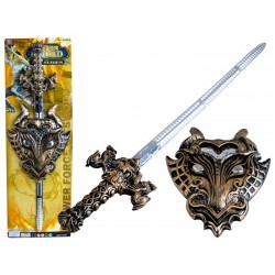 Set pre rytiera: meč + štít