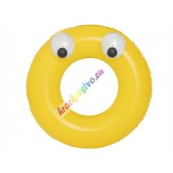 Bestway 36119, veľké nafukovacie koleso s očami, 3 farby, 91 cm