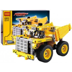 DECOOL: Mining Truck, stavebnica s pohyblivými časťami, 2 v 1