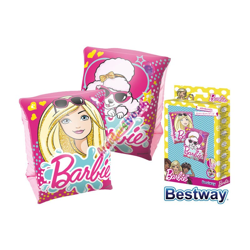 Bestway 93203 Nafukovacie rukávniky Barbie