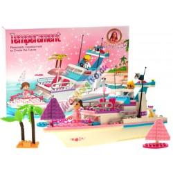 Princess Diary - stavebnica Výletná loď pre princezné, 300 častí
