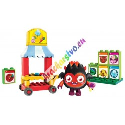 MEGA BLOKS Moshi  Monsters – Stánok so semiačkami