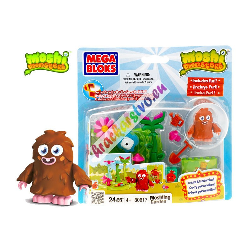 MEGA BLOKS Moshi  Monsters – Záhrada