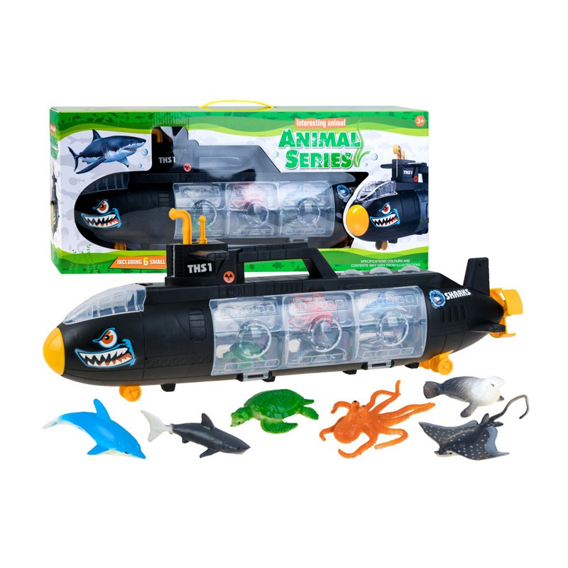 Ponorka s morskými zvieratkami