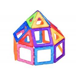 GIROMAG: magnetická stavebnica, farebné panely 26ks