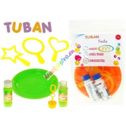TUBAN – sada na výrobu mydlových bublín