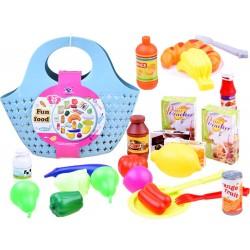 Nákupný košík/taška s tovarom 24v1