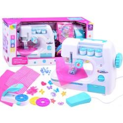 Detský funkčný šijací stroj s bohatým príslušenstvom