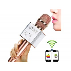 Bezkáblový Bluetooth mikrofón s reproduktorom