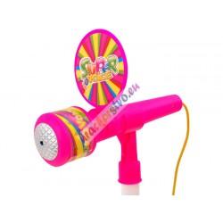 Mikrofón so stojanom, 2 farby
