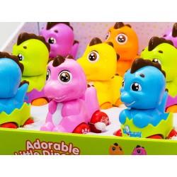 Veselý nakrúcací dinosaurus, 6 farieb