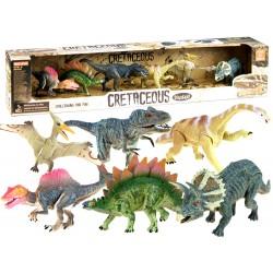 Sada maľovaných dinosaurov, 6ks