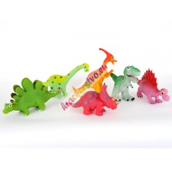 Dinosaurus gumený, pískací - 6 druhov