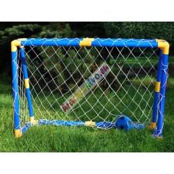 Futbalová bránka +plachta s otvormi +lopta +pumpa