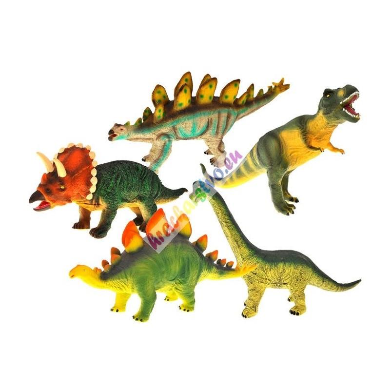Dinosaurus ručne maľovaný veľký, 5 druhov