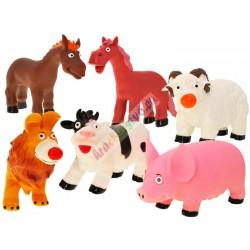 FARMA  veľké gumené zvieratká, 6 modelov