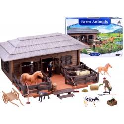 FunToys: Veľká farma s príslušenstvom, 4 modely
