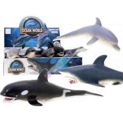 OCEAN veľké gumené zvieratko, 6 modelov