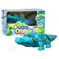 Silverlit – Plávajúci krokodíl – interaktívne zvieratko, 3 farby