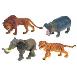 Figúrky ručne maľovaných Afrických zvierat