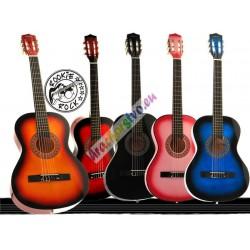 Drevená gitara 97 cm, 5 farieb