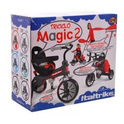 Trojkolka Italtrike Magic 2, červený - vylepšená verzia
