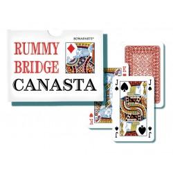 Hracie karty Canasta v papierovej krabičke